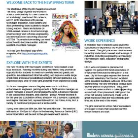 The Kingsley School Careers Newsletter Edition 07