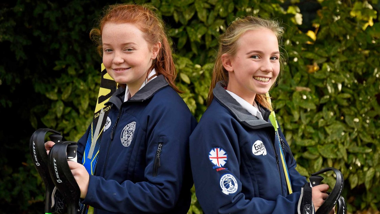 Kingsley skiers selected for national ski training camp for Spa uniform norge