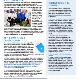 The Kingsley School Careers Newsletter Edition 11