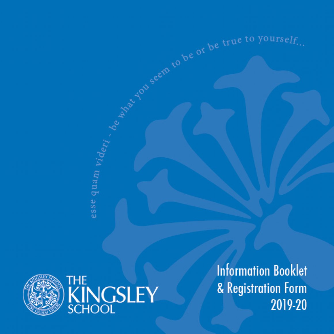 Information Booklet 2019-20 Cover