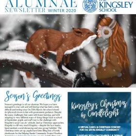 Alumnae Newsletter Winter 2020