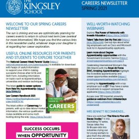 Careers March 2021