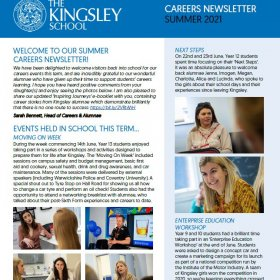 Careers Newsletter July 2021